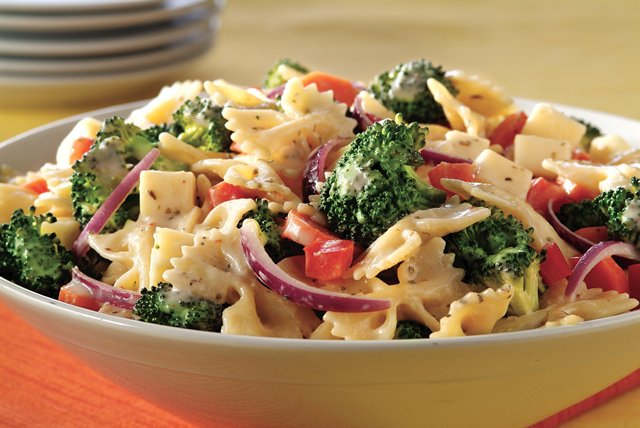 Creamy Pasta Salad With Italian Seasoning My Food And Family