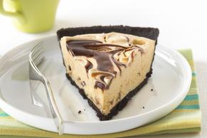 Peanut Butter-Fudge Swirl Pie