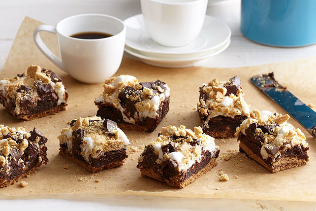 Smore Brownies Recipe Image 1