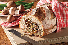 Gorgonzola-Stuffed Bread