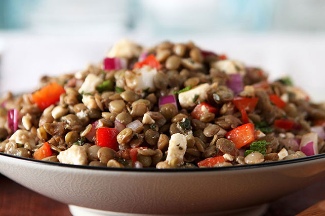 Lebanese Lentils & Red Peppers Image 1