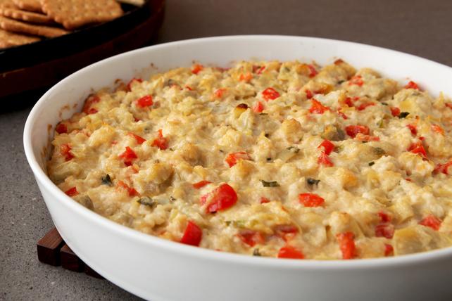 Tartinade chaude au crabe et à l'artichaut Image 1