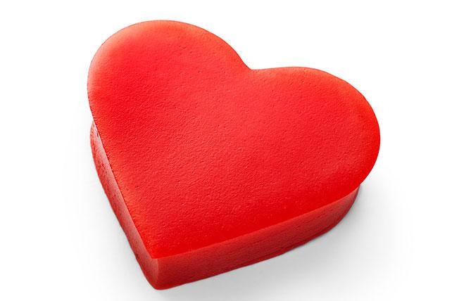 Valentine's Creamy JELL-O®  JIGGLERS Image 1