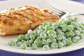 Peas with Dill and Sour Cream Image 1