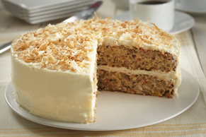 Carrot Coconut Cake Image 2
