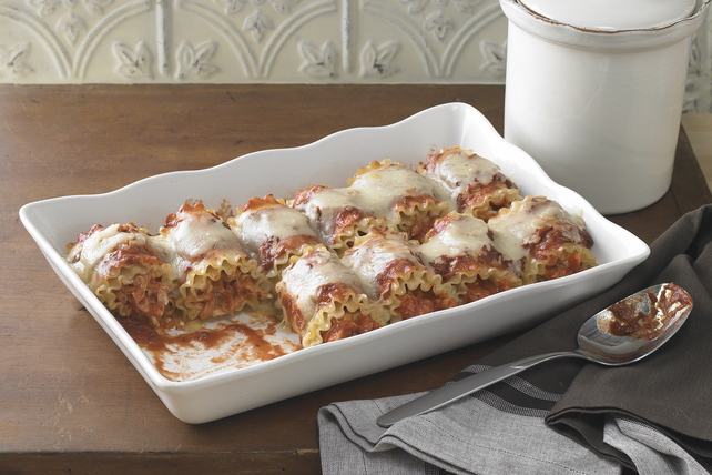 Spicy Chicken Lasagna Roll-Ups