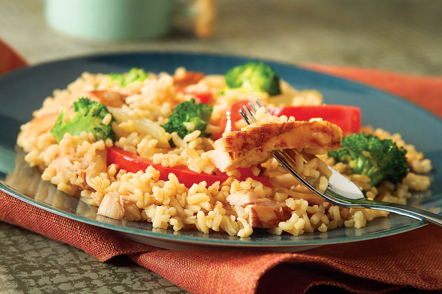 20-Minute Chicken and Rice Stir-Fry  Image 1