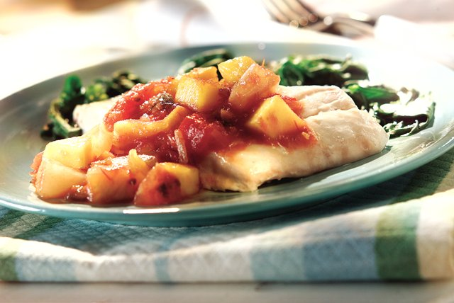 Baked Snapper & Tropical Salsa Image 1