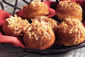 Upside-Down Coconut-Maple Corn Muffins