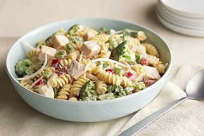 Garden Chicken Pasta Salad