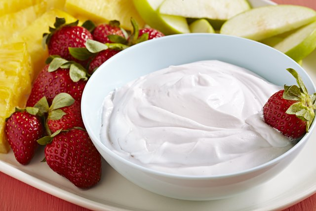 Cool Raspberry Fruit Dip Image 1