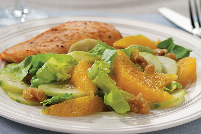 Orange-Cucumber Salad Image 1