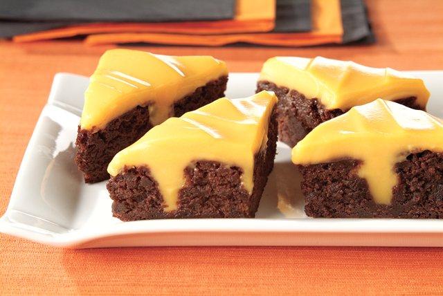 JELL-O Ween Poke Brownies Image 1