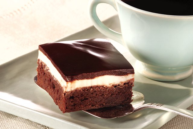 BAKER'S® Easy Minty Brownies Image 1