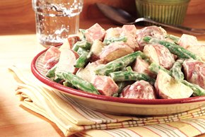 Green Bean, New Potato & Ham Salad