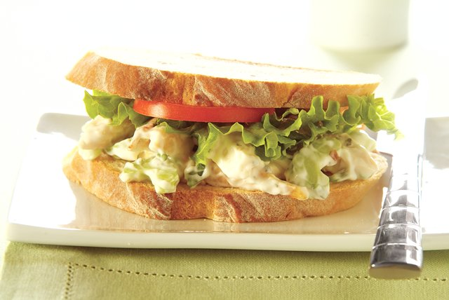 Basil-Chicken Salad Sandwich Image 1
