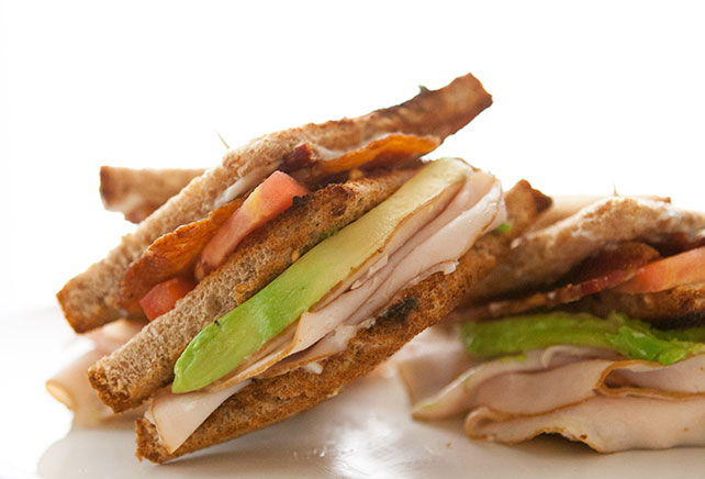 California Club Sandwich Image 1