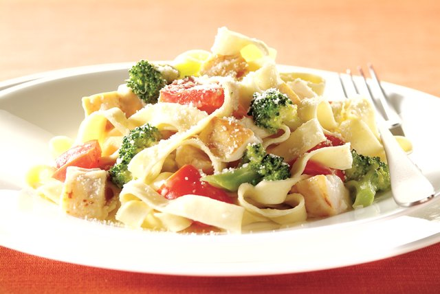 Easy Chicken Primavera