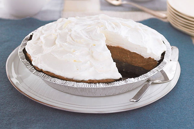 Triple-Layer Chocolate Pie Image 1