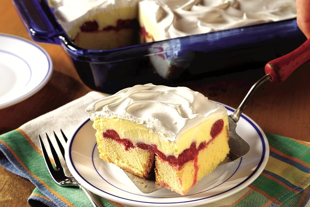 Double-Berry Trifle Squares Image 1