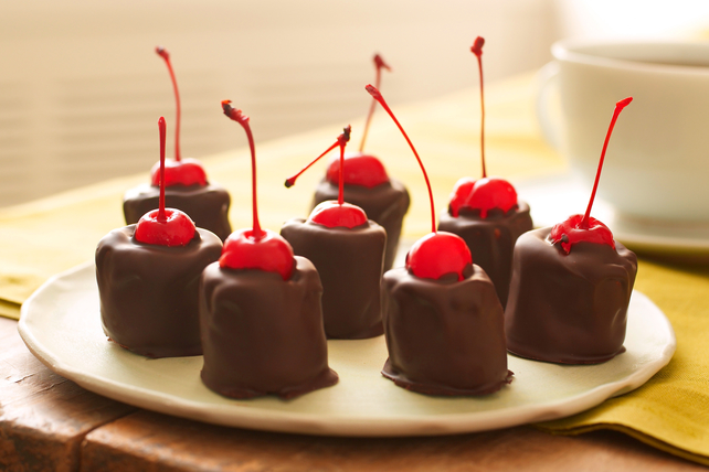 Chocolate-Covered Marshmallow Kisses