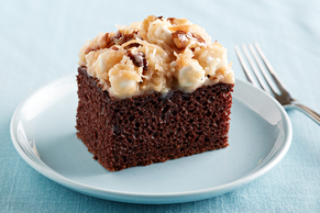 German Chocolate Mallow Cake