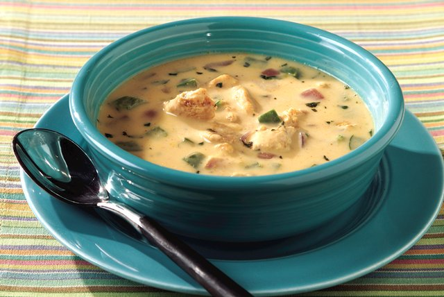 Santa Fe Chicken Fajita Soup Recipe - Kraft Recipes