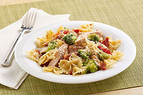 Chicken & Pasta Toss with Sun-Dried Tomatoes