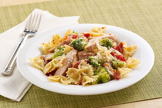 Chicken & Pasta Toss with Sun-Dried Tomatoes Image 1