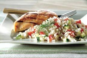 10-Minute Vegetable & Rice Medley