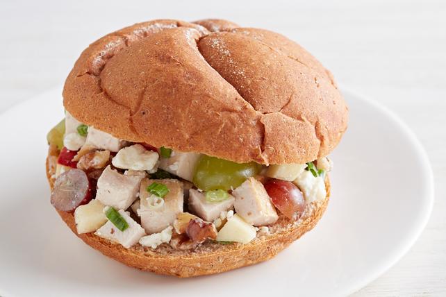 Gorgonzola Waldorf Sandwiches Image 1