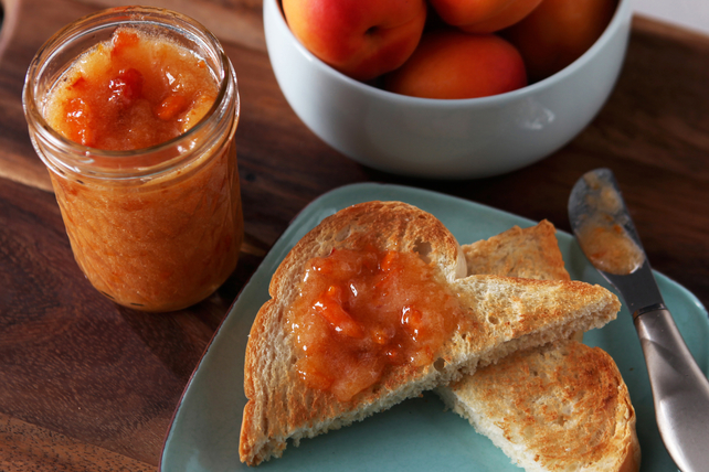 30 Minutes to Homemade SURE.JELL Apricot Freezer Jam Image 1