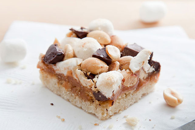 Blonde Rocky Road Brownies Image 1