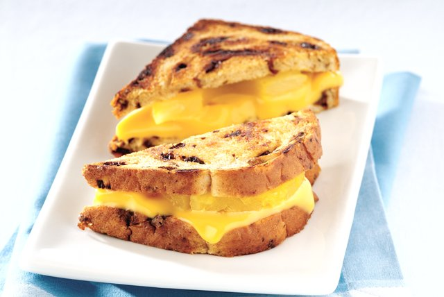 Grilled Pineapple-Cheese Sandwich