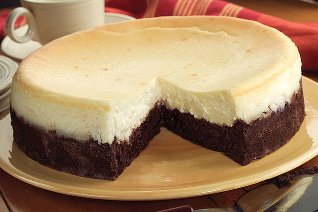 Brownie Bottom Cheesecake Image 1