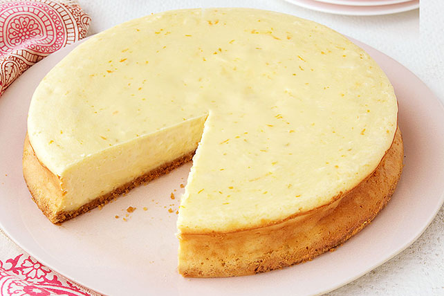 Triple-Citrus Cheesecake Image 1