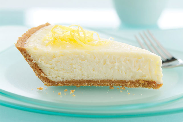 PHILADELPHIA 3-STEP Luscious Lemon Cheesecake - Kraft Recipes
