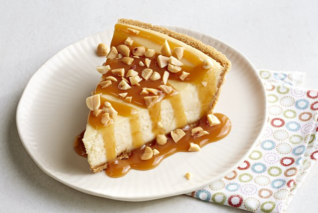 PHILADELPHIA® 3-STEP® Caramel Apple Cheesecake Image 1