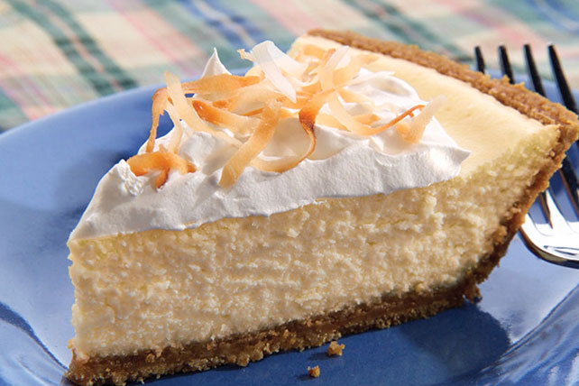 PHILADELPHIA® 3-STEP® Coconut Cheesecake Image 1