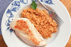 Cheesy Chipotle Chicken & Rice Dinner Image 1