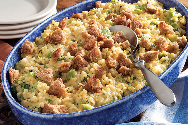 Broccoli Rice Casserole - Kraft Recipes
