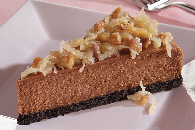 BAKER'S GERMAN'S Chocolate Cheesecake Image 1