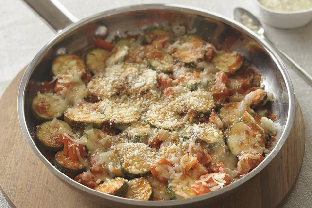 Poêlée de courgettes au parmesan Image 1