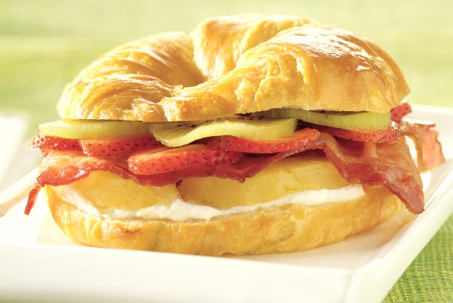 Tropical Bacon Croissant Image 1