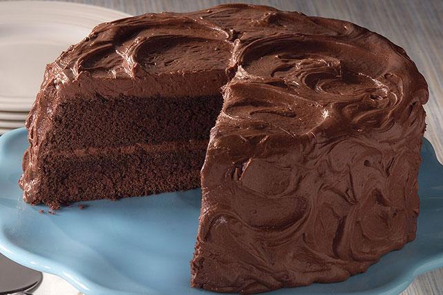 Classic Mahogany Sour Cream Cake Image 1