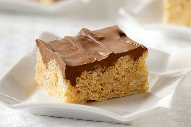 Frosted Peanut Butter Rice Krispies Treats Kraft Recipes