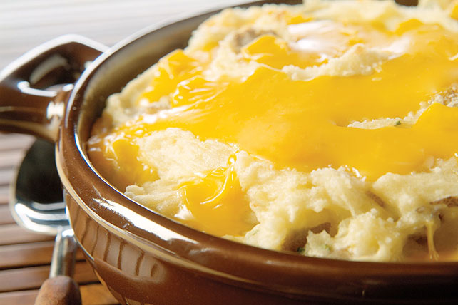 Golden Mashed Potatoes Image 1