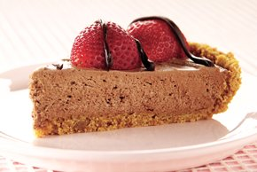 Heavenly Chocolate-Berry Pie