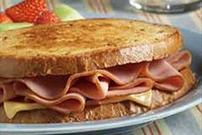 Cheesy Ham Griller