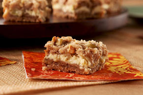 Harvest Time Apple Bars
